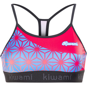 KiWAMi Tokyo Sports Bra Women black/sakura/pink